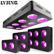 600W/1200W/1800W/2400W LED 실내 의료 식물에 대 한 빛 전체 스펙트럼 COB 칩 성장 Ved 및 꽃 성장 텐트 램프
