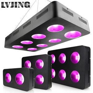 Image 1 - 600W/1200W/1800W/2400W LED לגדול אור ספקטרום מלא COB שבבים עבור מקורה צמחים רפואיים לגדול Ved ופריחה גידול אוהל מנורה