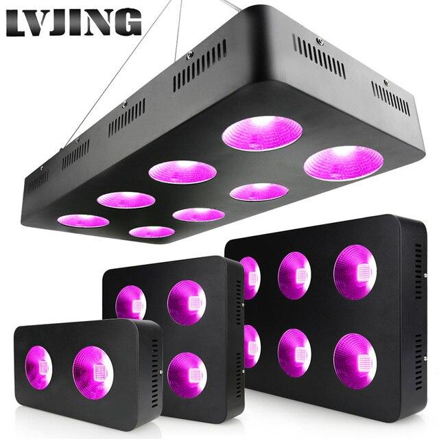 600W/1200W/1800W/2400W LED לגדול אור ספקטרום מלא COB שבבים עבור מקורה צמחים רפואיים לגדול Ved ופריחה גידול אוהל מנורה