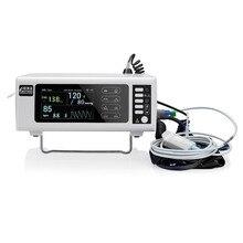 Obstétrica portátil monitor de presión arterial detectar la frecuencia cardíaca fetal embarazada y oxímetro de pulso con impresora térmica de color LCD