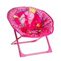 Children bench backrest small stool folding learning chair baby dining chair baby chair Pepe pig Moon chair