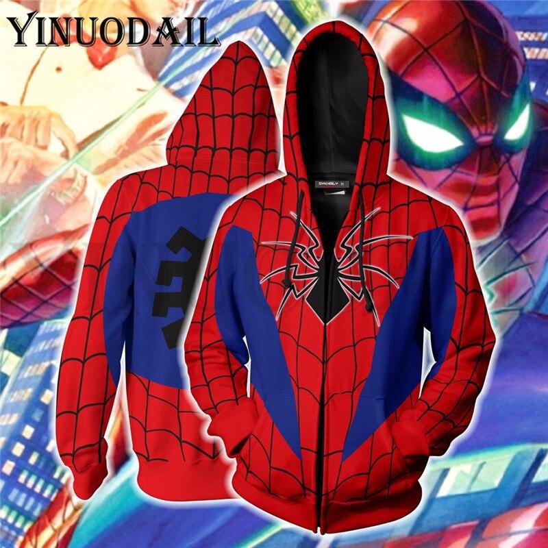 2019 MARVEL Superhero Printing Mens Hoodies Sweatshirt 3d Hoodies Harajuku Mens Hoodies