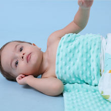 Детское одеяло массажное для новорожденных 100% дюйма Стираемое