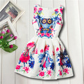 2016 Cool Fashion New Girls Children Cloth, Spring Dress, Summer Princess Party Kids Size 7-18 Big Girl's Dress Princess Dresses