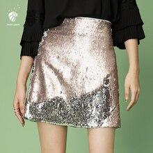 FANSILANEN 2018 nueva llegada moda verano primavera mujeres A-line faldas  sólidas de Midi patinador Vintage Club Z82281 e08051205167