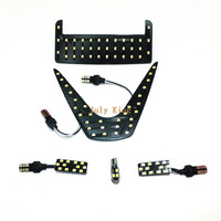 July King 6000K LED Car Interior Reading Lights Case For Toyota C HR 2017 ON 2835SMD