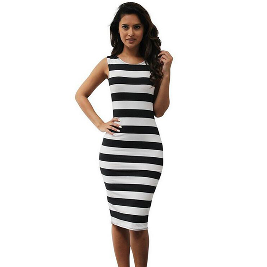 Popular Stripe Pencil Skirt-Buy Cheap Stripe Pencil Skirt lots ...