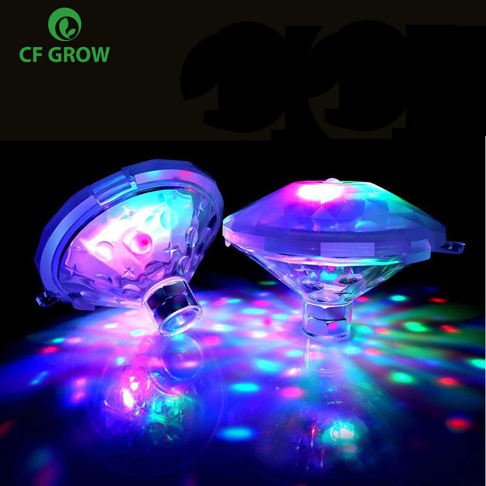 Rgb Led Pool Light Underwater Led Lighting Show Pond Swimming Pool Spa Bath Colorful Colorable Led Underwater Light Led Underwater Lights Aliexpress