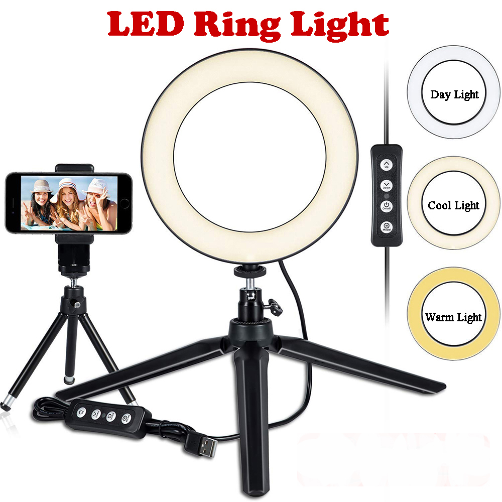 Led Ring Light With Stand | MACTREM Photography LED Ring Light 6