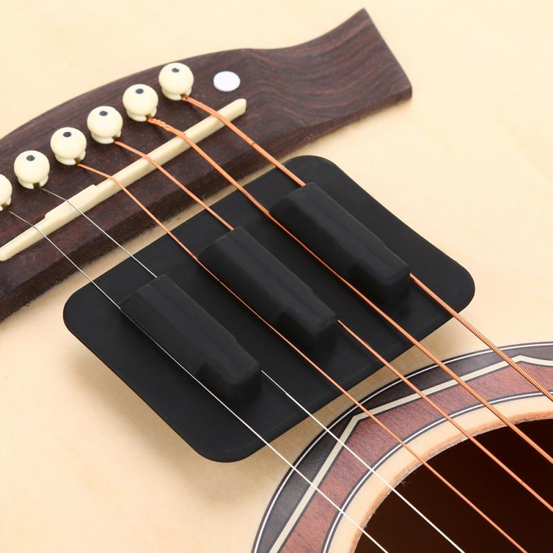 silicone acoustic classic guitar feedback buster sound hole cover buffer block stop plug guitar. Black Bedroom Furniture Sets. Home Design Ideas