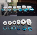 1 piece Transparent DIY Silicon Round Cat Shape Ring Mold Mould Jewelry Making Tools epoxy resin molds for jewelry