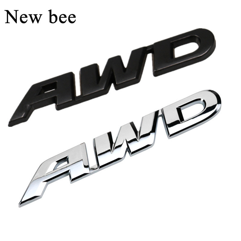 Car SUV Off Road Fender//Trunk Metal Silver Chrome 4x4 Logo Emblem Sticker Badge
