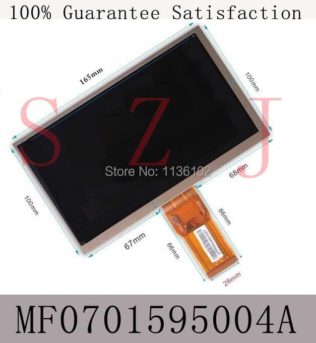 (Ref:MF0701595004A) 7 inch LCD screen display S18 ii dual-core tablet screen lcd screen Free shipping 5Pcs/lot