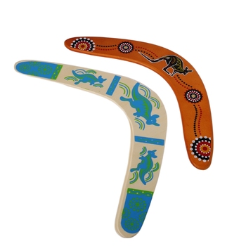 New Kangaroo Throwback V Shaped Boomerang Flying Disc Throw Catch Outdoor Game - discount item  17% OFF Outdoor Fun & Sports
