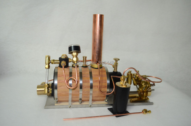Twin Miniature Live Gas Burner Steam Engine + Boiler-in Men\'s ...