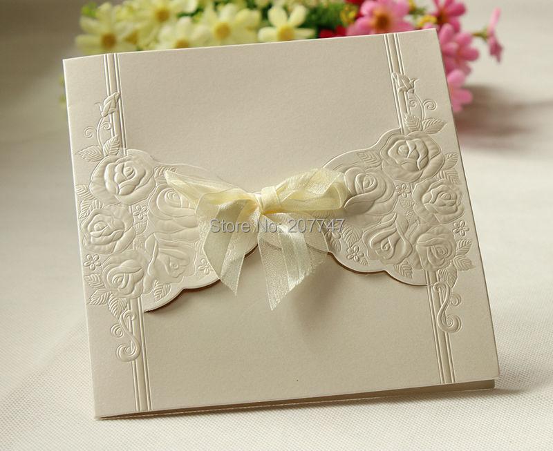 unids del corte del laser elegante rose de boda vintage boda tarjetas de invitacin de boda centros de mesa en de en