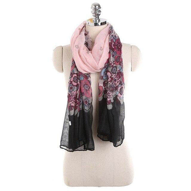 Feitong casual vintage bufanda infinito glamorous gris de las ...