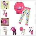 hot sale kids baby pajamas jammies suit children's warm underwear baby boys girls pajamas sets winter cartoon clothes sleepwear