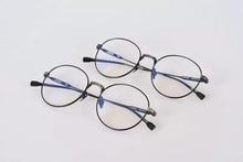 LIRIKOS Pure Titanium Anti-Corrosion Granny Chic Women Rounded Full Frame Glasses Reading Clear Eye Lens male Spectacle Eyewea