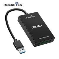 Rocketek USB 3.0/2.0 XQD Hafıza kart okuyucu Yüksek Hızlı Transferi Sony M/G Serisi için Windows/Mac IŞLETIM SISTEMI bilgisayar