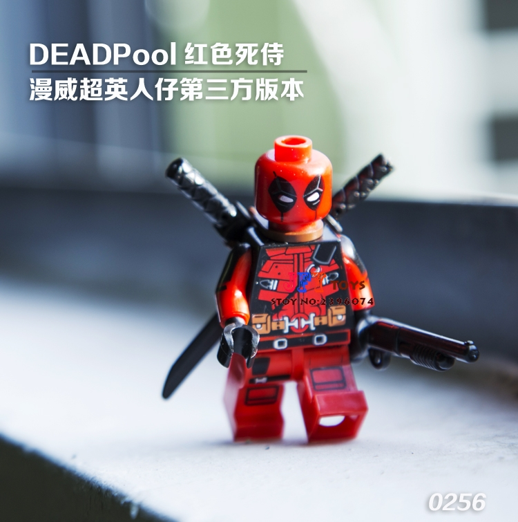 Single Sale star wars superhero Decool Armed Deadpool building blocks model bricks toys for children brinquedos menino подсвечники ethnic chic подсвечник лепестки латунь резная