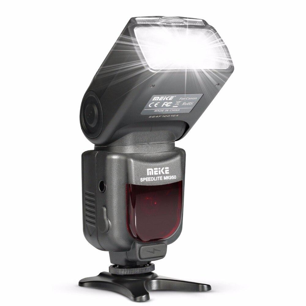 Meike MK950 E-TTL TTL Speedlite Cámara Flash mk950 para cámara Canon EOS 5D II 6D 7D 50D 60D 70D 550D 600D 650D 700D 580EX 430EX