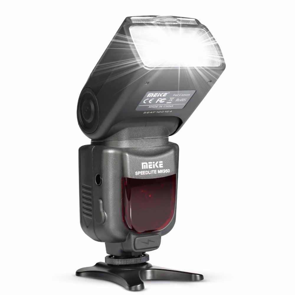 Meike MK950 E-TTL TTL Speedlite Camera Flash mk950 for Canon camera EOS 5D II 6D 7D 50D 60D 70D 550D 600D 650D 700D 580EX 430EX 2017 new meike mk 930 ii flash speedlight speedlite for canon 6d eos 5d 5d2 5d mark iii ii as yongnuo yn 560 yn560 ii yn560ii