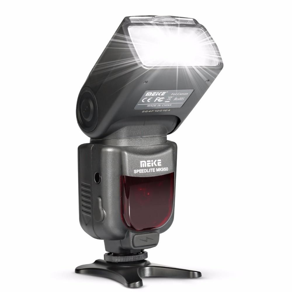 Meike MK950 mk950 per la macchina fotografica Canon EOS E-TTL TTL Speedlite Flash Della Fotocamera 5D II 6D 7D 50D 60D 70D 550D 600D 650D 700D 580EX 430EX