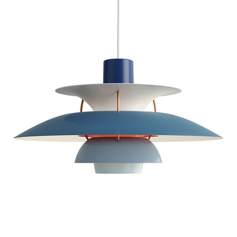Nordique E27 pendentif Led lumière coloré parapluie Led suspendre lampe salle à manger pendentif Led lampe Led lampara luminaires - 5