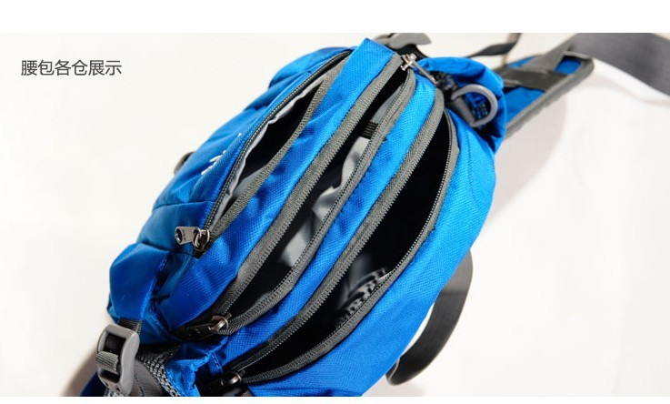 Aonijie 6L Outdoor Sports Leisure Riding Hiking Runnning Waist Bag Shoulder Bag E808