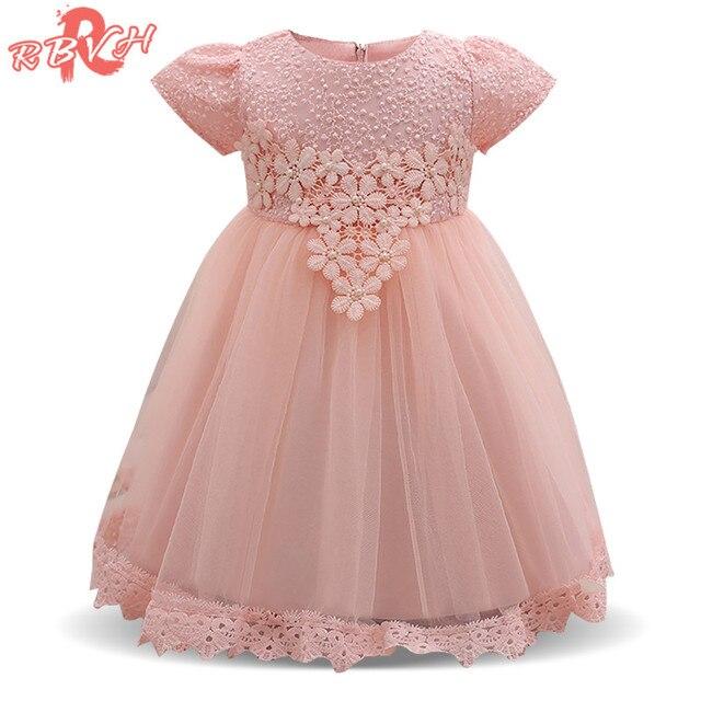 Vestido de Boda de la Muchacha de flor Del Bebé de 1 Año de ...
