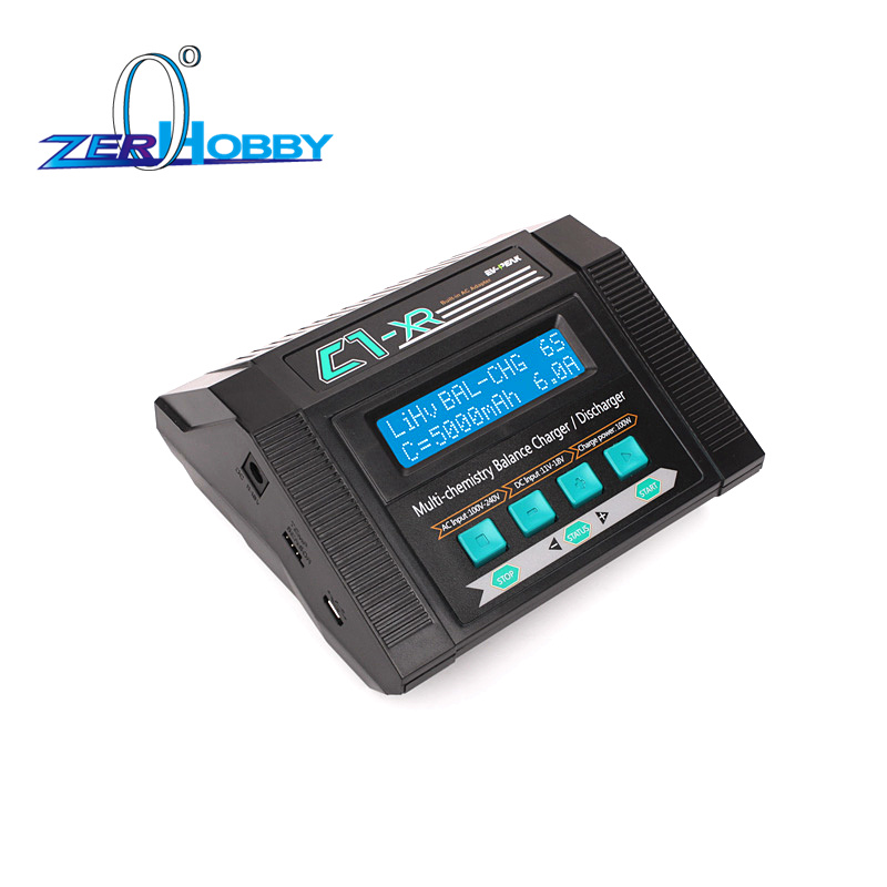 Ev Peak C1 XR an easy used AC balance Lipo Ni mh Charger for RC Car 100 240V input 100W Lipo Ni mh Charger SAA Certifica in Parts Accessories from Toys Hobbies