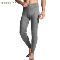 Thermal Underwear Bottoms Cotton Soft Winter Warm Long Johns Termica Homem Pants Line Warm Thermal Underwear Bottoming Trousers