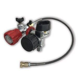 Image 1 - AC201 HPA Klep Gebruikt voor Carbon Fiber/Paintball/PCP Cilinder/Tank M18 * 1.5 4500PSI voor Luchtdruk & vul Station met Slang Acecare