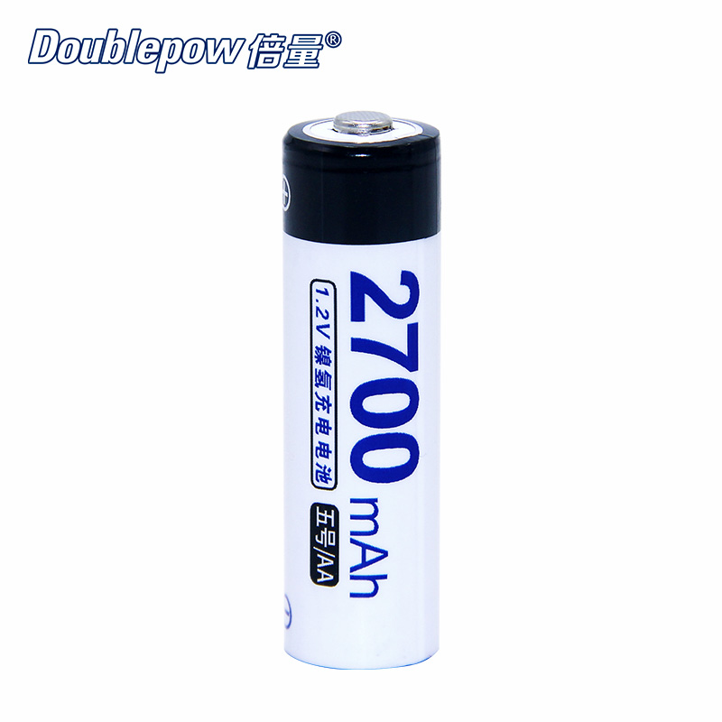4pcs Lot DP AA AAA 1 2V Doublepow rechargeable battery 800mAh 2700mAh in Actual High Capacity Battery Cell FREE SHIPPING in Replacement Batteries from Consumer Electronics