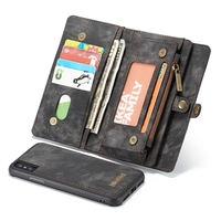 Nuevo en Stock Carpeta Para el iphone de Apple X Tirón de la Caja de Mate de cuero Para Apple iphone 8 Más Caso Suave de TPU caja Del Teléfono I8 cubierta