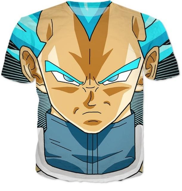 PLstar Cosmos Dragon Ball Z Super Saiyan T shirts Women Men Hipster 3D T shirt Goku/Vegeta tshirts Summer style Casual tees tops