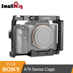 SmallRig Camera Cage For Sony A7II/A7RII/A7SII ILCE-7M2/ILCE-7RM2/ILCE-7SM2 Cage Rig -1660