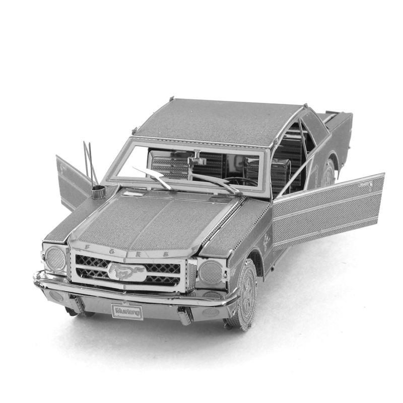 1 Piece Metal Works DIY 3D Laser Models Assemble Miniature Metal 3D Model Metallic Nano Puzzle