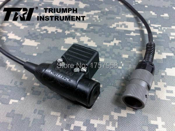 TRI MSA U94 6-Pins/5-Pins Waterproof Military PTT for TRI PRC-152 PRC-148 набор инструмента forsage 025 5 msa