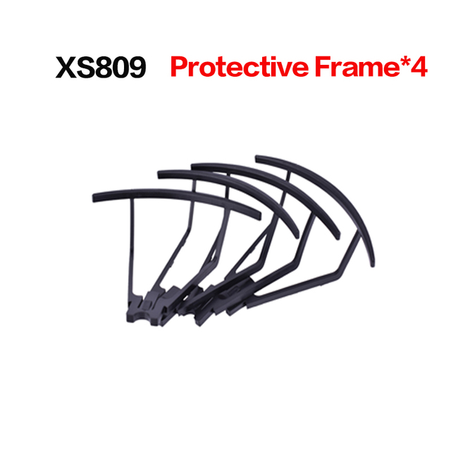 Free shipping Propeller Blade for XS809 XS809W Mini Foldable RC Drone Quadcopter Pocket Helicopter Protective frame spare part
