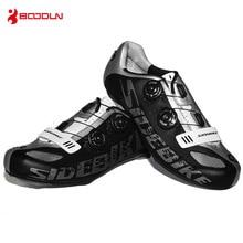 BOODUN Breathable Road Bike Shoes Cycling Sneakers Men Zapatos Zapatillas Ciclismo Bicicleta Carretera Chaussure Velo Route