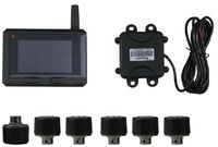 TPE50 Built Out Big LCD Screen Truck Bus TPMS Tire Pressure Monitoring System With 6 22