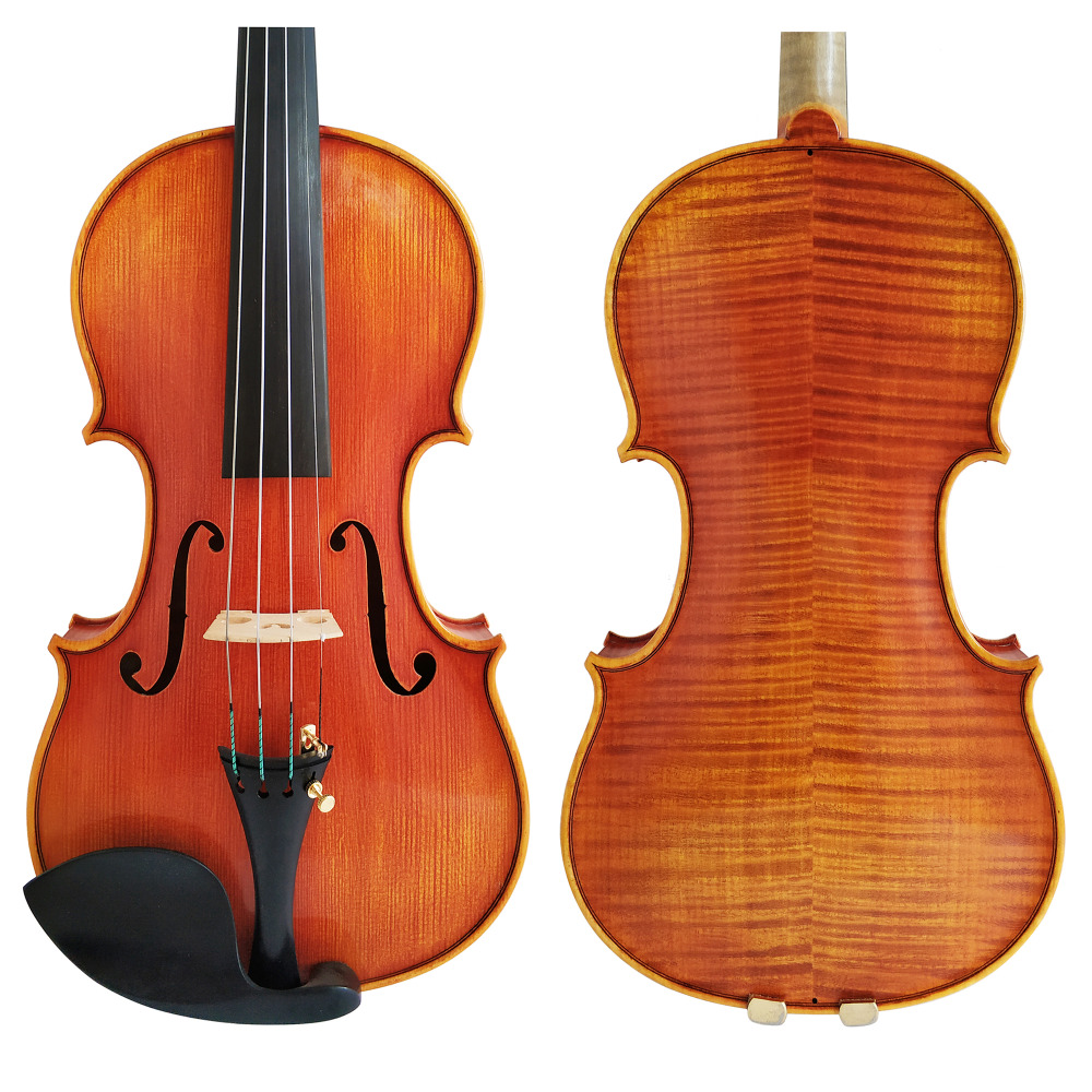 Free Shipping Copy Stradivarius 1716 100% Handmade Spirit Varnish Violin FPVN05 European Wood with Foam Case and Bow free shipping copy stradivarius 1716 100% handmade oil varnish violin carbon fiber bow foam case fpvn04 8