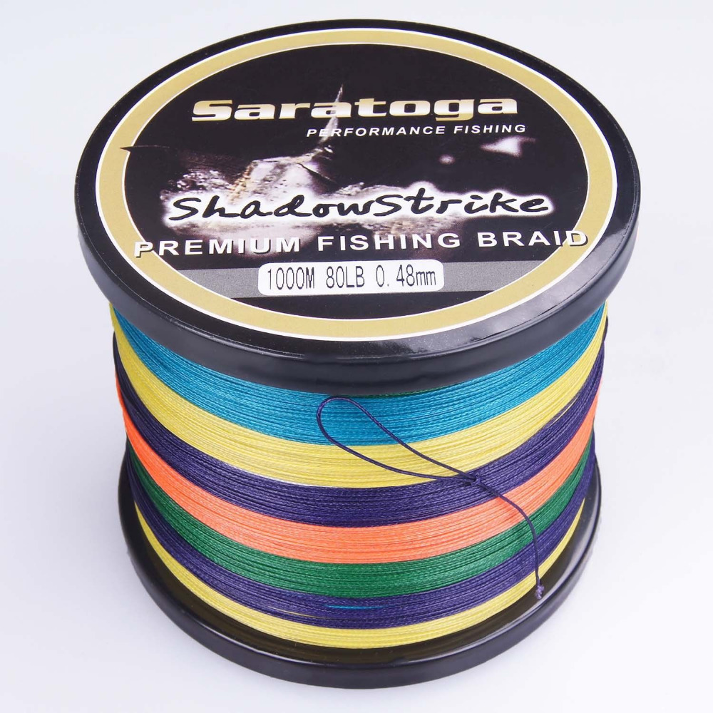 HGyikun Brand 1000M 8 Strand PE Multifilament Braided Fishing Line Saltwater / freshwate 50LB 60LB 70LB 80LB simpleyi lure as gift 1000m 8 stands x8 multifilament pe braided fishing line tackle 10lb 80lb 90lb 100lb 120lb to 300lb wire