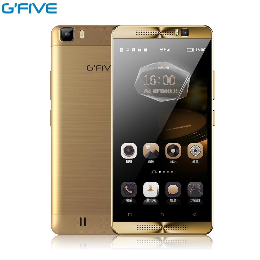 Original Gfive L3 5 5 inch Mobile Phone Android MT6580M Quad Core Smartphone 2GB RAM 16GB