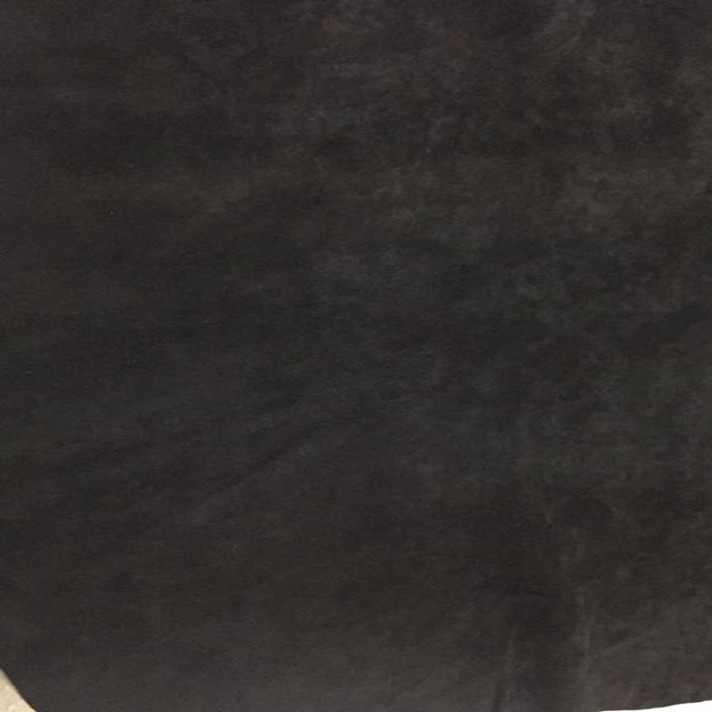 SALE Black Genuine Sheep Velvet Suede Leather Fabric for Shoes/Handbag/Hair accessory/DIY,Free Shipping