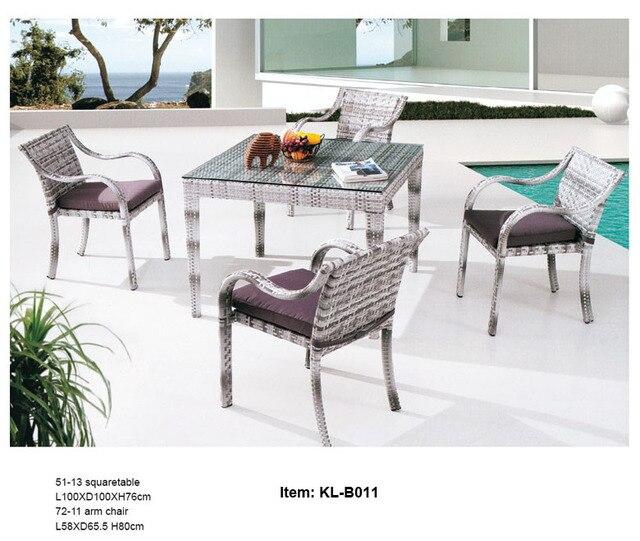 Kl b011 envío gratis, buena calidad, 5 unids mesa de comedor y ...