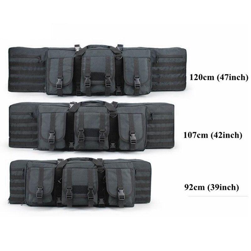 92 cm/107 cm/120 Cm sacs de chasse en plein air multifonction tactique Airsoft Gun sacs militaire Paintball tir fusil sac à dos