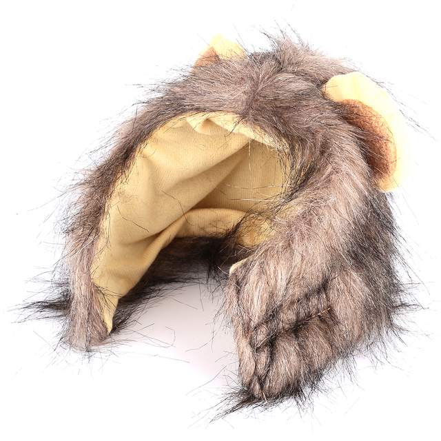 Lion Mane Cat Wig Costume 2